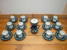 Servizio da caffè 12 pezzi - Anni 40 - in porcellana Bavaria-Germany ESCHENBACH