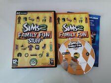 Die Sims 2 Family Fun Stuff-PC Spiel Add-On Expansion Pack-ORIGINAL & KOMPLETT
