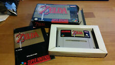 Zelda A Link to the Past Super Nintendo SNES Boxed PAL CIB OVP #3