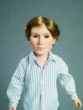 """Adam 18"""" Collectible Boy Doll with Jeans, Shirt, Shoes in Carpatina Dolls Box"""