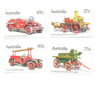 Australia-Fire Engines mnh set
