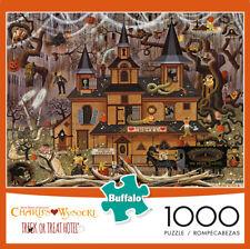 New ListingBuffalo Games Charles Wysocki Trick or Treat Hotel 1000 Piece Jigsaw Puzzle