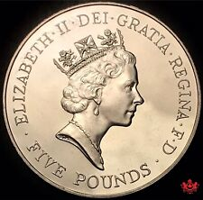 1996 United Kingdom 5 Pounds Elizabeth II - Lot#W34