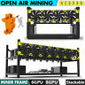 Veddha T2 6/8 GPU Open Air Mining Rig Case Computer Miner Frame Stackable ETH