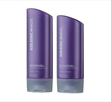 Keratin Complex Blonde Shell Shampoo & Conditioner Duo 400ml Aus Stock