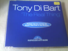 TONY DI BART - THE REAL THING - OLD SKOOL DANCE CD SINGLE