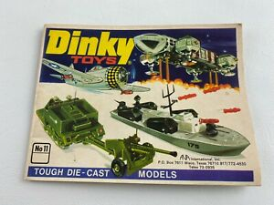 Vintage 1975 No 11 DINKY Toys Collectors Catalog Booklet Guide 39 Pages, Cars