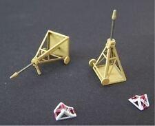 Airmodel Products 1/72 GERMAN LUFTWAFFE 1.10M AXLE STANDS Resin & PE Set