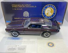 New ListingFranklin Mint 1/18 Scale 1970 Camaro Signature Version Very Limited & Detailed!