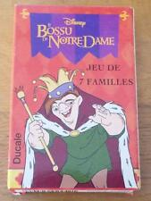 "Bossu de Notre Dame ""Jeu de 7 Familles"" Sealed Playing Card Game - Disney"
