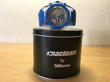 Used - Reloj Watch MACTEAM by Altanus - Chronograph Blue Rubber - NOT WORKING