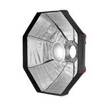 80cm Foldable Beauty Dish Octagon Softbox - Bowens - Photography Studio Silver