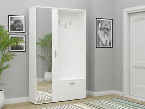 Garderobe Bis Schuhschrank Farbauswahl Praktisch Spiegel Diele Garderobenset M24