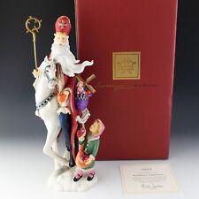 Lenox China Sinterklaas Dutch Pencil Santa Collection 2007 Figurine Xmas Mib