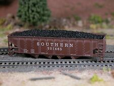 Hay Brothers FLOOD LOADED COAL LOADS - fits CON-COR 4-bay 75-ton Hopper Cars