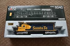Kato Santa Fe # 5014 SD40 Locomotive 37-6328 New In Box!