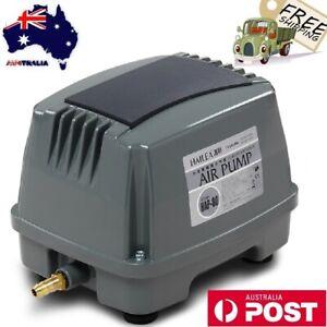 Power Air Pump HAP-80 Silent Pump Industrial Aquarium Fish Oxygen 60W 80L/Min