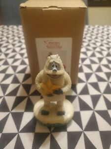 Jim Shore Rudolph Traditions Anniversary Figure: Bumble boxed Used Please Read