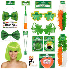 St Patricks Day Party Costume Accessories Irish Tie Fancy Dress Badge Sunglasses