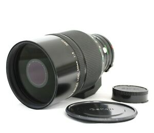 [Exc Canon New FD NFD Reflex 500mm F/8 MF Mirror Telephoto Lens from Japan