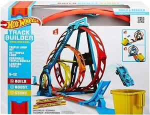 Hot Wheels GLC96 Track Builder Unlimited Triple Loop Kit