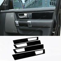 Door Handle Panel Cover Trim For Land Rover Discovery 4 LR4 2010-16 Gloss black