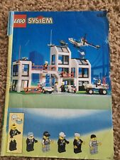 Lego 6398 CENTRAL PRECINCT HQ Instruction Manual Booklet ONLY No Bricks retired