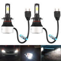 2X H7 LED 72W 9000LM Voiture Ampoules Feux Phare Lampe Kit Blanc HIC Nighteye CP