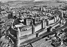 BR28992 La cite de Carcassonne vue d avion france