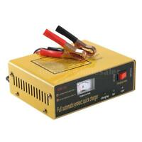 6V/12V Automatic LED Charger Pulse Repair Maintainer for Lead Acid Battery