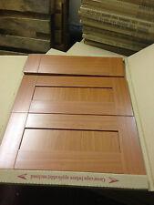 Cabinet Kitchen  600 mm  3 x Pan Draw Set,,  dark wood panel -cherry Shaker