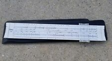 Pickett Microline 120 drafting slide rule