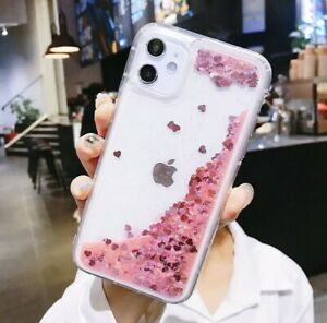 GLITTER LIQUID WATER SOFT CASE FOR IPHONE WITH DYNAMIC QUICKSAND x/xs xr pro 11