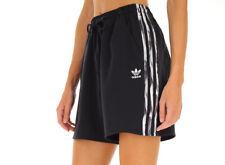 XS Adidas X DANIËLLE CATHARI SHORTS Black Satin Limited Edition