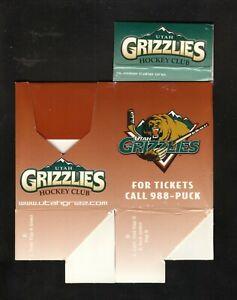 Utah Grizzlies--Pocket Schedule Holder--ECHL--Avalanche Affiliate