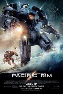 """PACIFIC RIM """"A"""" 11.5x17 PROMO MOVIE POSTER"""