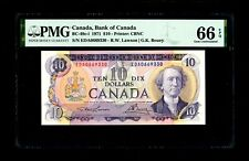 Bank of Canada 1971 $10 PMG Gem Unc 66 EPQ