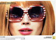 Publicité Advertising   058  2010    Renault  la nouvelle Twingo Gordini R.S (2p
