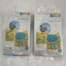 Intex Inflatable Arm Bands, Sea Buddy, 59650WL, 2 pairs, Ages 3-6 years
