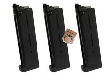 ARMY 27rds Airsoft Toy Gas Magazine For ARMY R26 (1911) Series GBB 3PCS