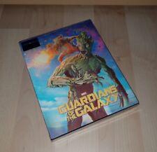 GUARDIANS OF THE GALAXY 3D * BLUFANS Lenticular Slip * Blu Ray Steelbook * NEU