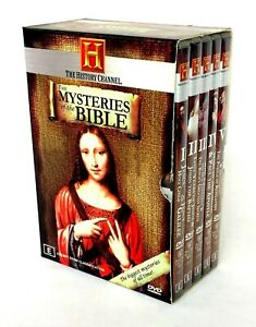 Mysteries Of The Bible -The History Channel (1994) DVD Box 5-Disc Set
