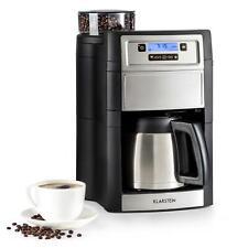 Caffettiera Macchina Caffe Americano Macina Caffè Macinino 1,25L Argento Ufficio