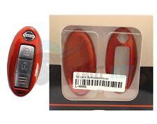 Nissan Key Cover Qashqai Juke Altima Cube 370Z Tiida Key Chiave Cle Red
