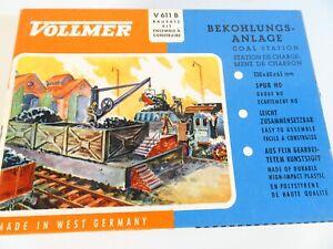 Vollmer H0 V611   Bausatz Bekohlungsanlage ungebaut in OVP