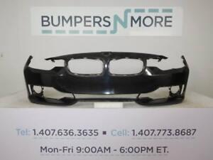 OEM 2012-2015 BMW 3series w/o Trim Lines w/o Sensor w/o Lamp Washer Front Bumper