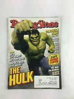 May 2015 Rolling Stone Magazine The Hulk Coachella Diary The War on Women