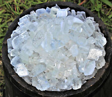 1 lb Bulk Lot Rough Clear Ice Calcite (Raw Gemstone Mineral Crystal Healing)