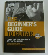 New ListingThe Beginners Guide To Guitar - New Book With Cd