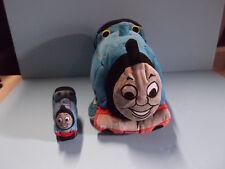 "Thomas & Friends Thomas the Tank Engine Bean Bag Plush 9""in x 17""in + Mini Plush"